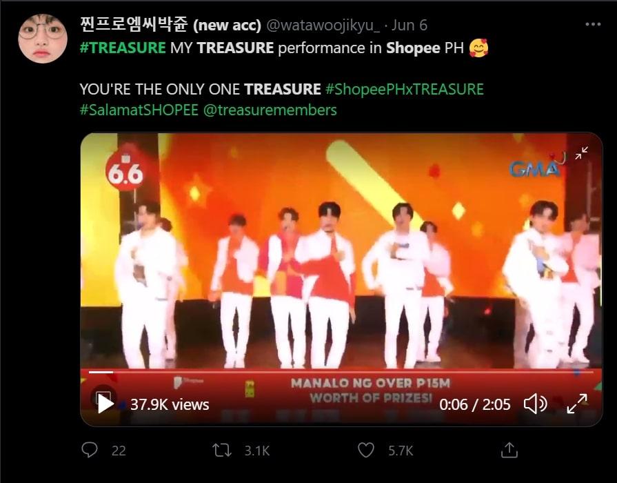 K-Pop act Treasure's exciting performances