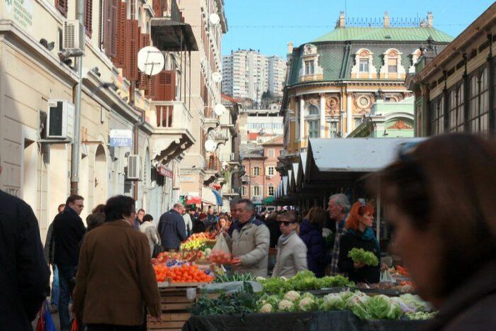 Rijeka Market by Artem Marchenko via Flickr CC