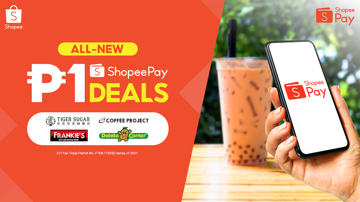 Satisfy Your Comfort Food Cravings with ShopeePay 1 Deals