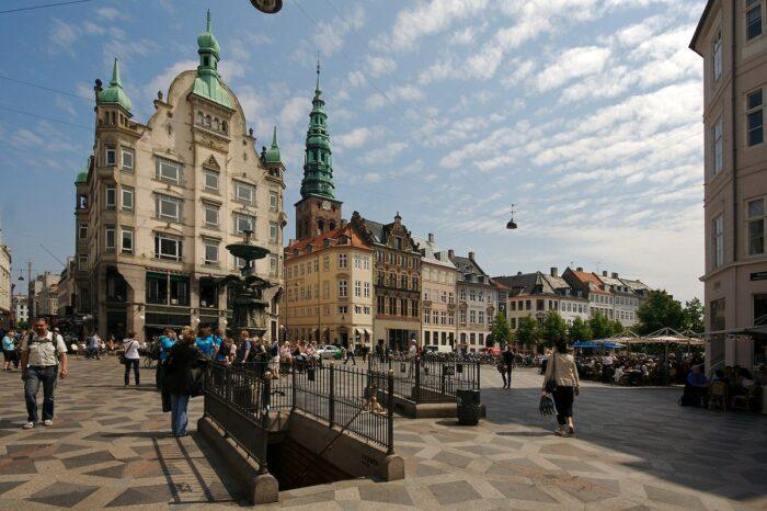 Stroget Copenhagen by Olga Itenberg via Wikipedia CC