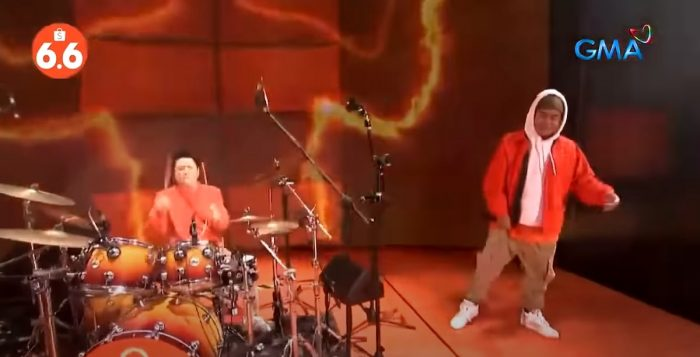 Willie Revillame and Gloc 9's performance