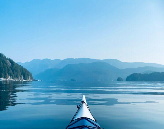Deep Cove Kayak Centre, North Vancouver, Canada by Angela Porisky via Unsplash