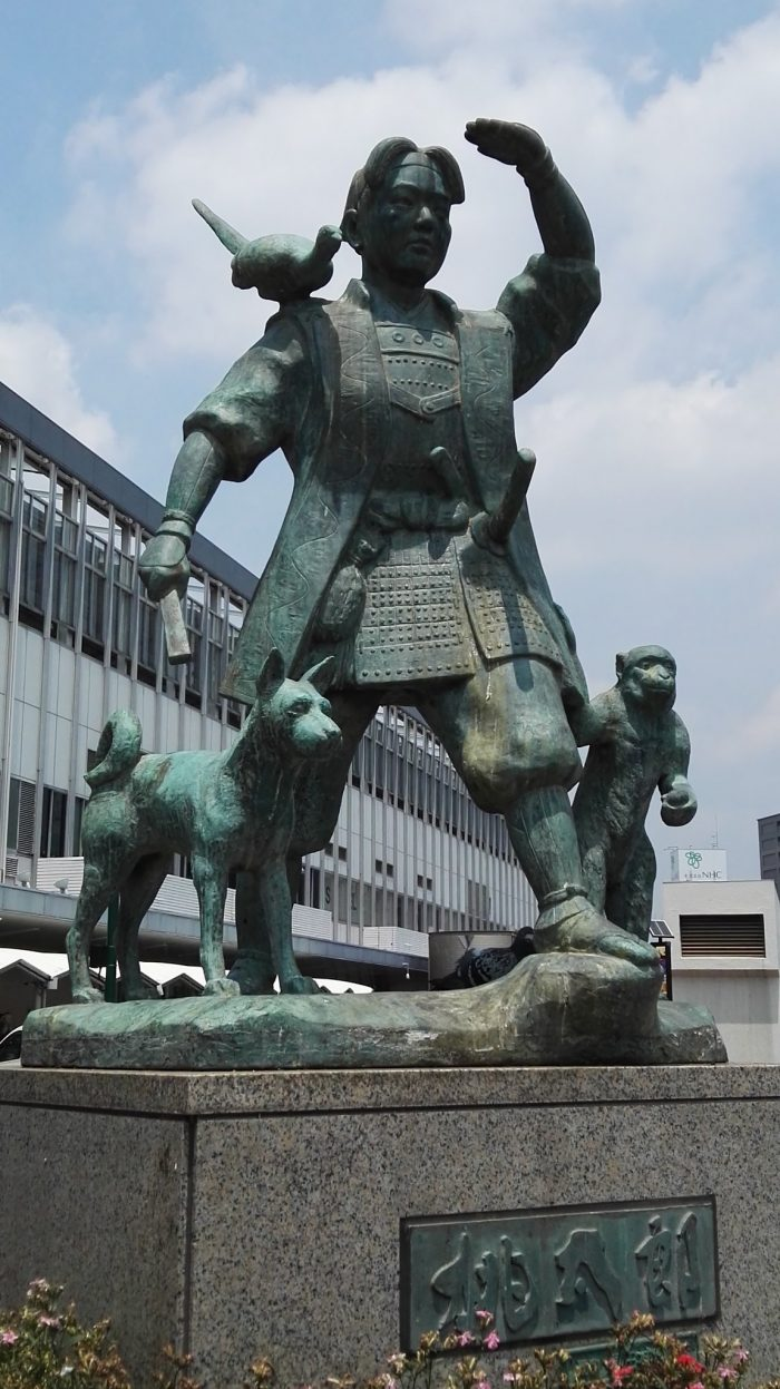 Momotaro Sculpture by Dolf van der Haven via Flickr CC