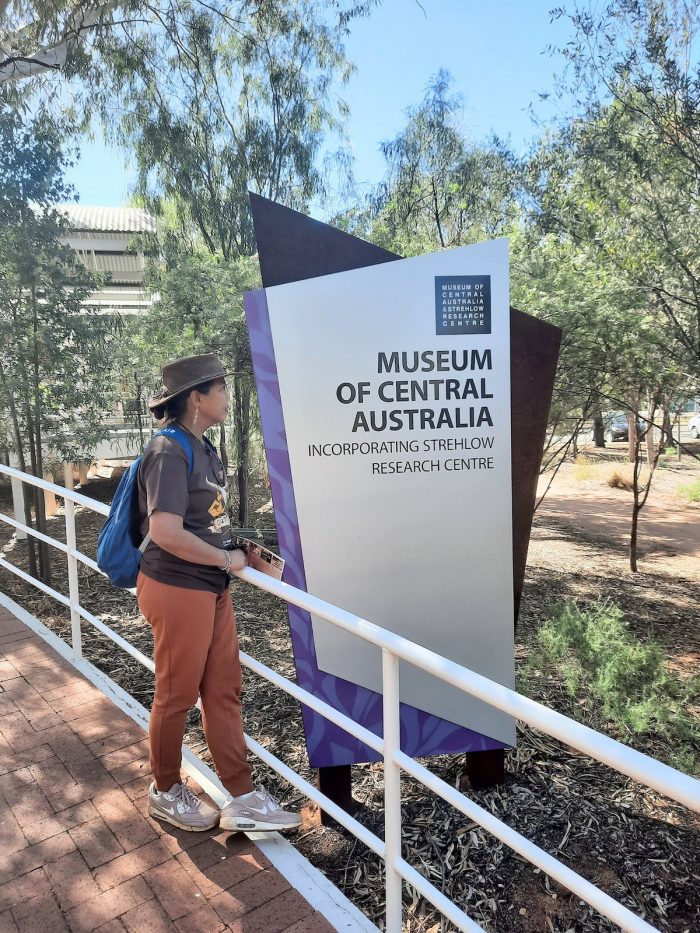 Museum of Central Australia photo by Rowena Cejas via Facebook Page