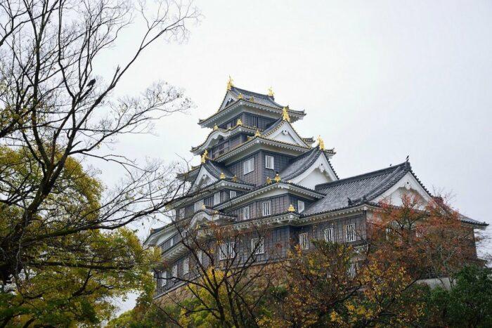 Okayama Castle photo via Pixabay