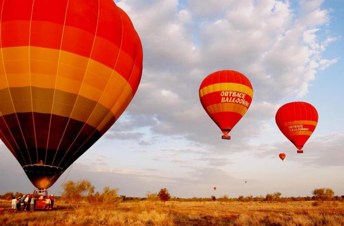 Outback Ballooning photo via FB Page