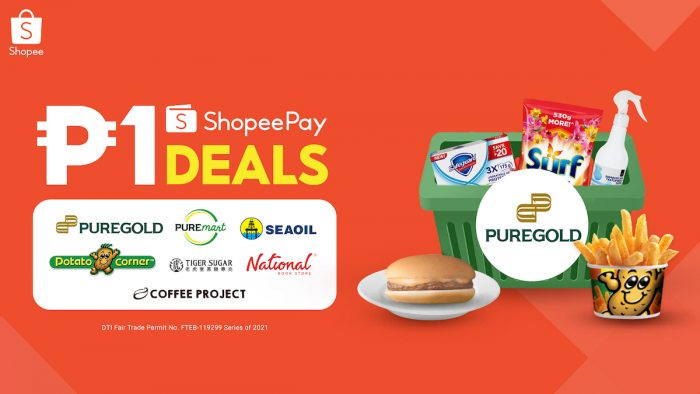 1 peso deal with ShopeePay