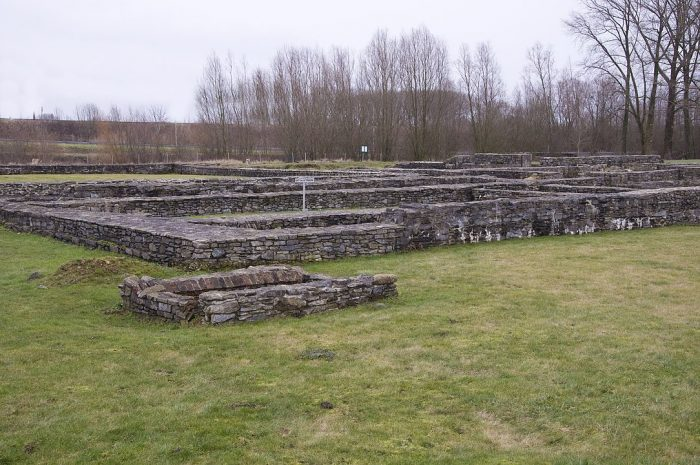 Archeologische Site Ename by Paul Hermans via Wikipedia CC