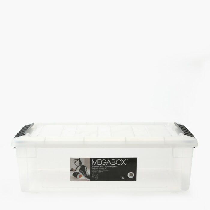 Megabox Storage Box 6L (Clear)
