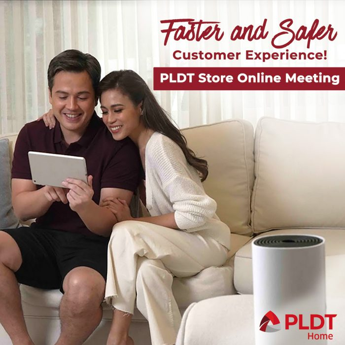 PLDT Home launches online booking appointment service for store visit