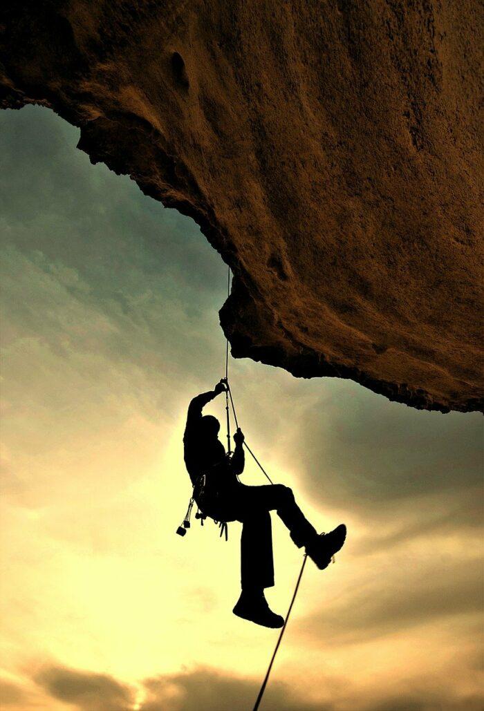 Rock Climbing photo via Pixabay