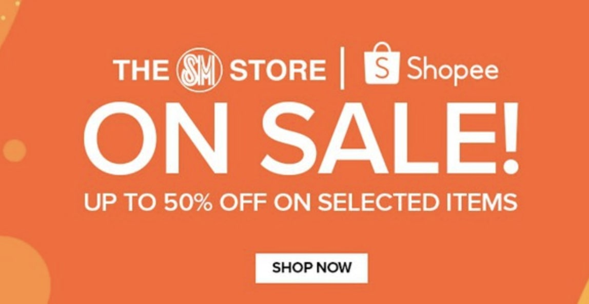 ICYMI: SM Store is offering up to 50% OFF discount on 8.8 Mega Flash Sale