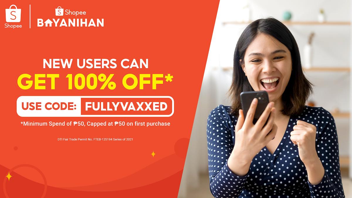 Shopee FullyVaxxed New User Code