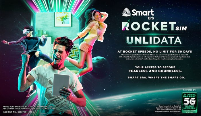 Smart Bro Rocket SIM