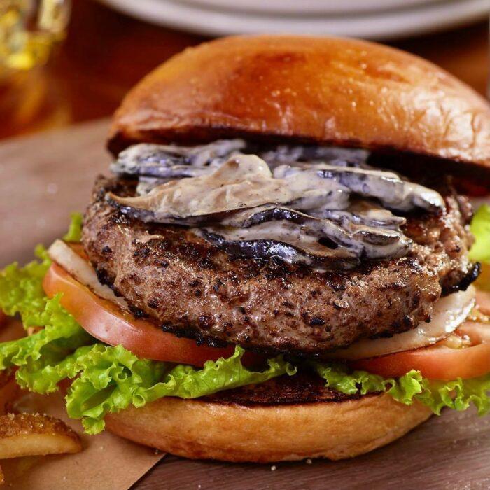TGI Fridays - Shiitake Truffle Burger