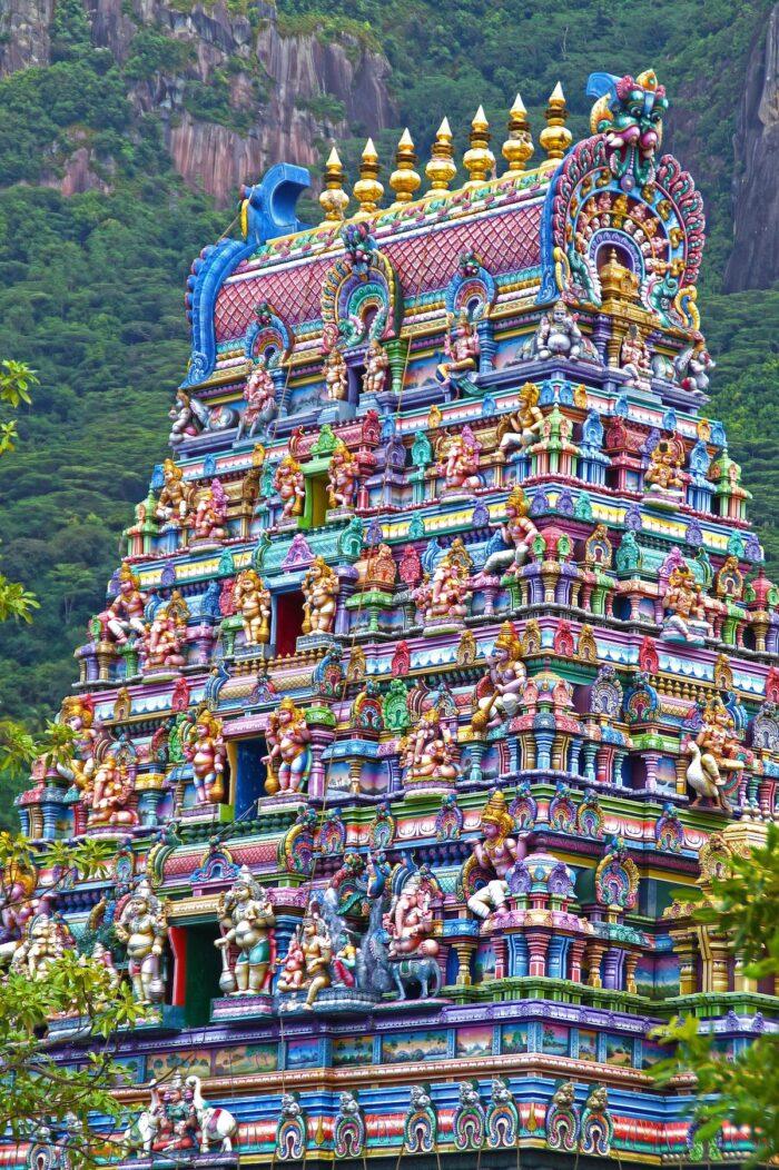 Tempio Hindu in Seychelles via Pixabay