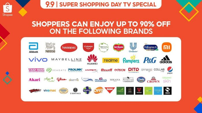 9.9 Shopee Super Shopping Day TV Special