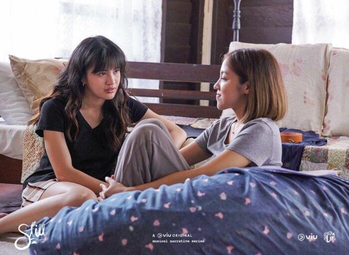 Julie Anne San Jose and Gab Pangilinan as Laura and Sab in Still