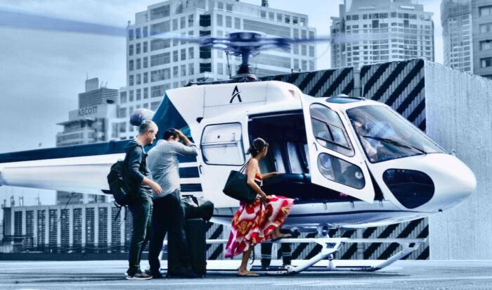 Servicio de helicópteros a pedido a Palawan