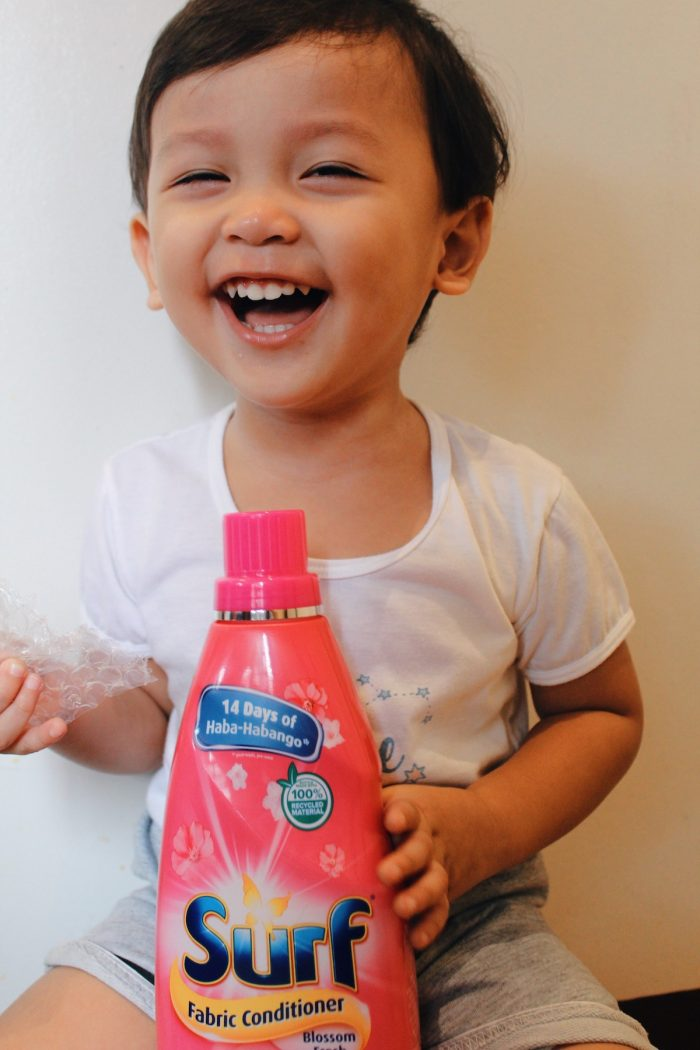 Stay Fresh with Surf Fabric Conditioner